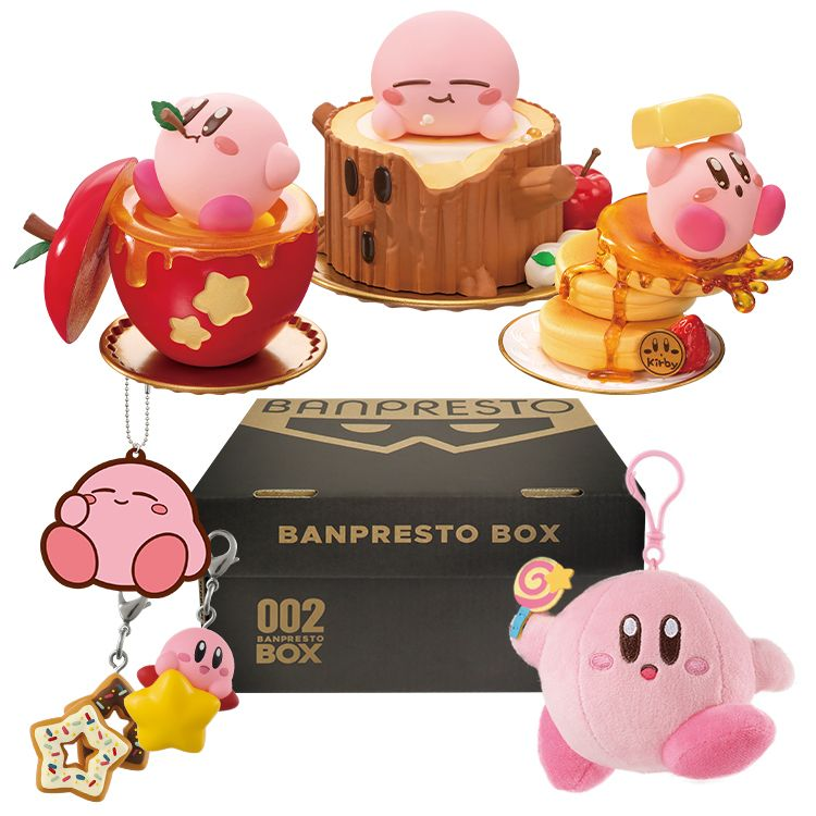 Bandai Spirits Presents A Box Filled With Exclusive Kirby Merch In 2021 Kirby Banpresto Anime Gifts