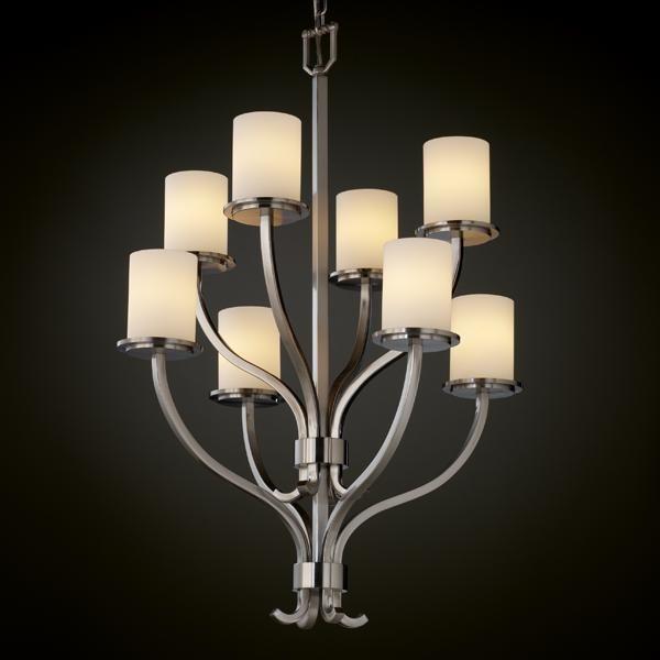 pego lighting. Sonoma 8-Light 2-Tier Chandelier : AU5Z4 | Pego Lamps Lighting T