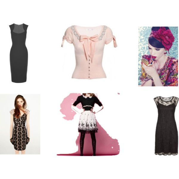 Romantic Coquette by lee-lim on Polyvore