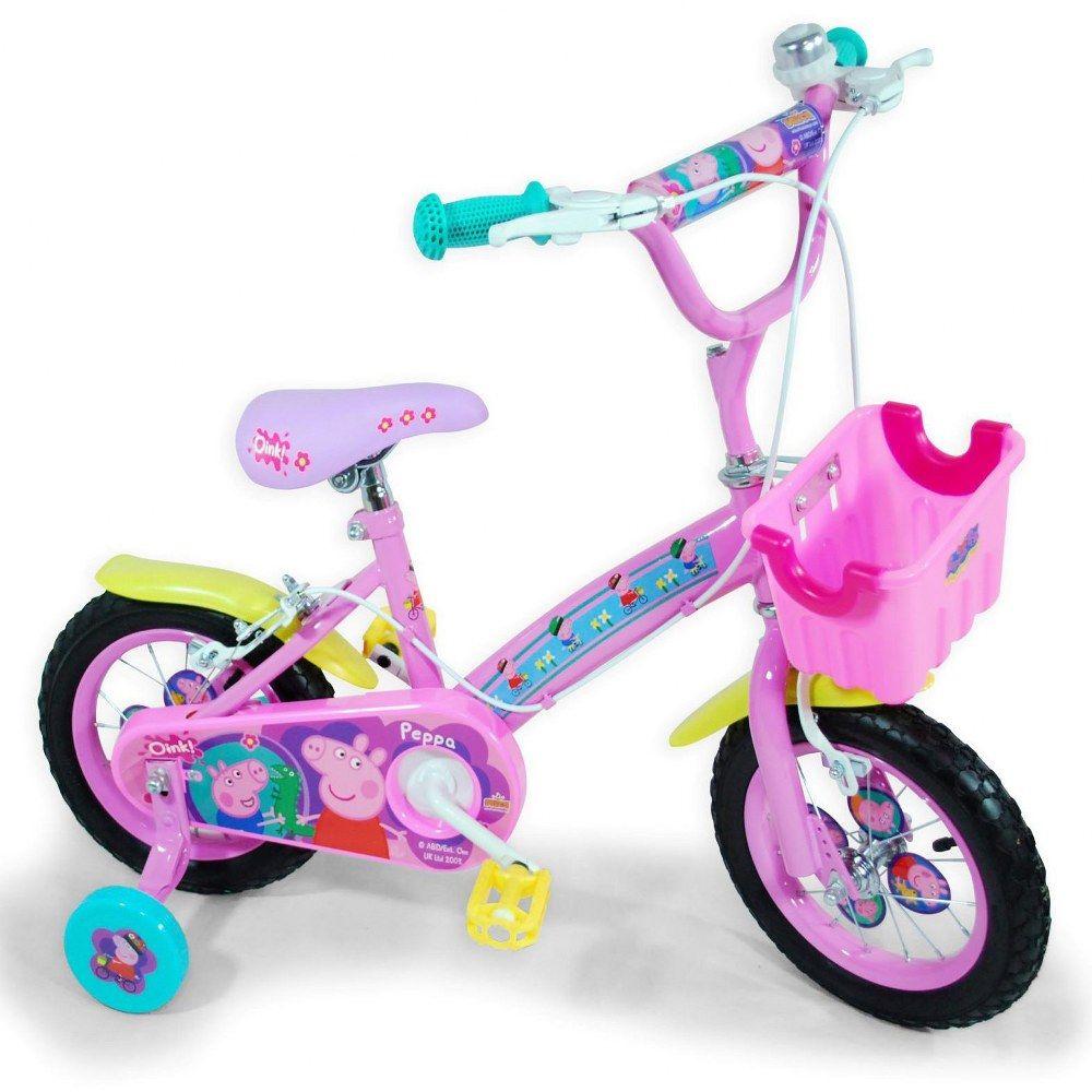 Bicicleta Infantil Rueda 12 Peppa Pig Dibutoys Peppa Pig
