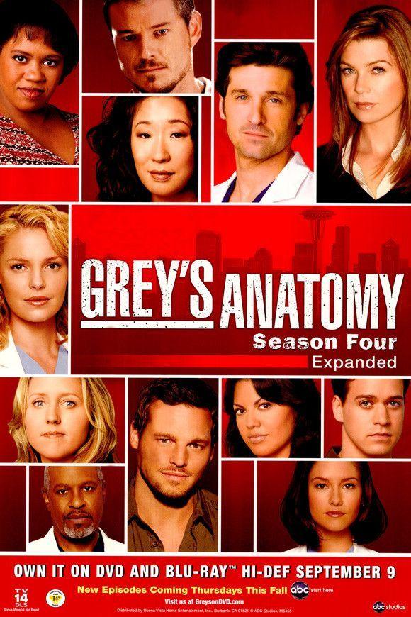 Grey\'s Anatomy 27x40 Movie Poster (2005)