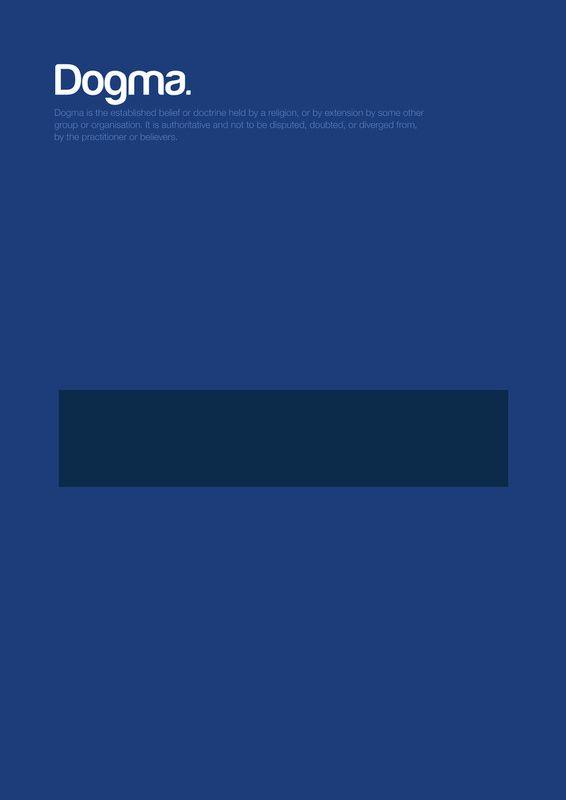 Minimalistic Posters on Philosophy.