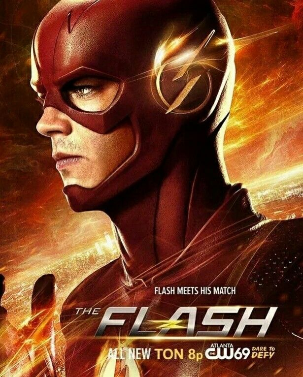 Pin By Taylor On The Flash The Flash Poster Flash Tv