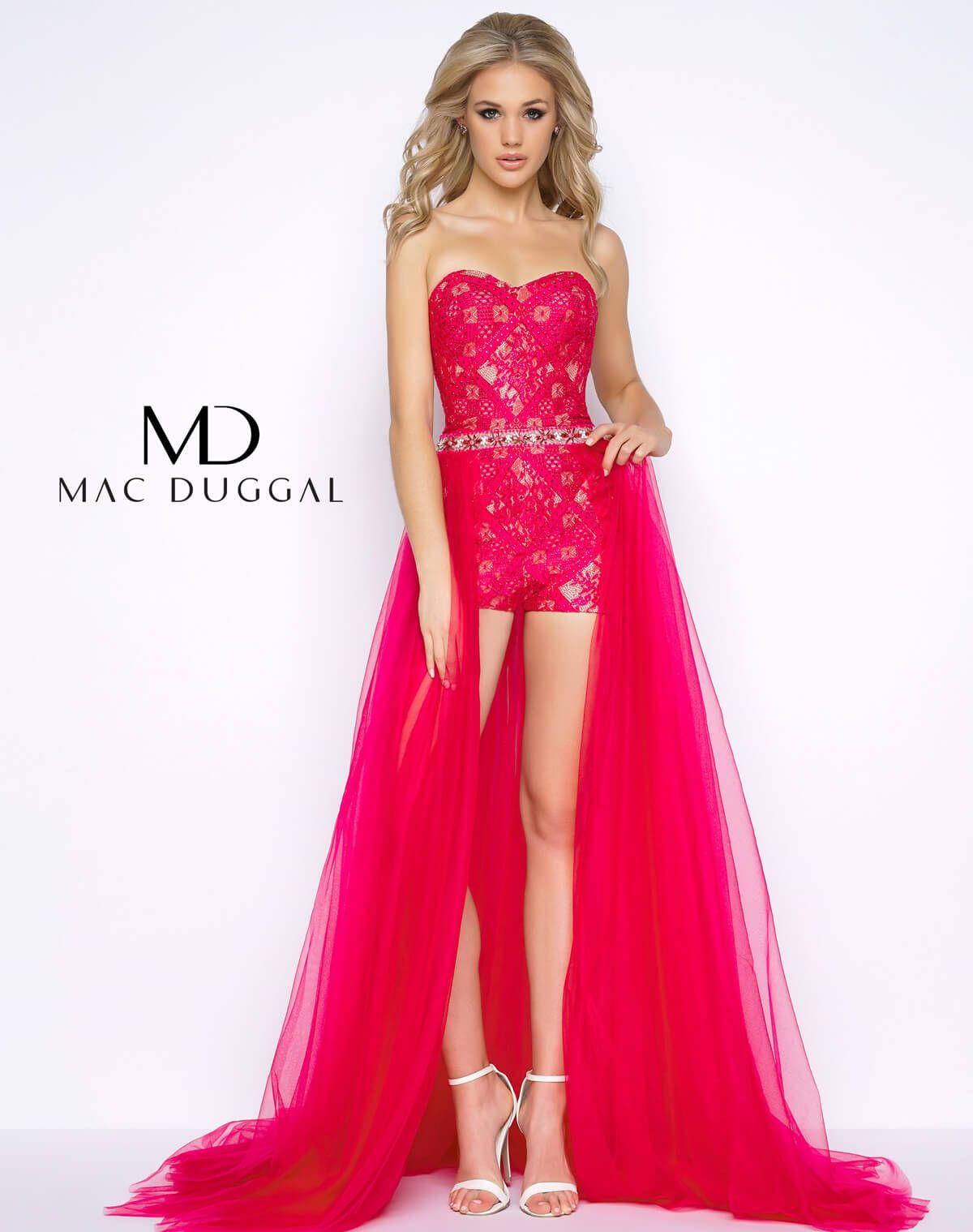 50366a Mac Duggal Homecoming Dresses Dresses Prom Romper [ 1519 x 1200 Pixel ]