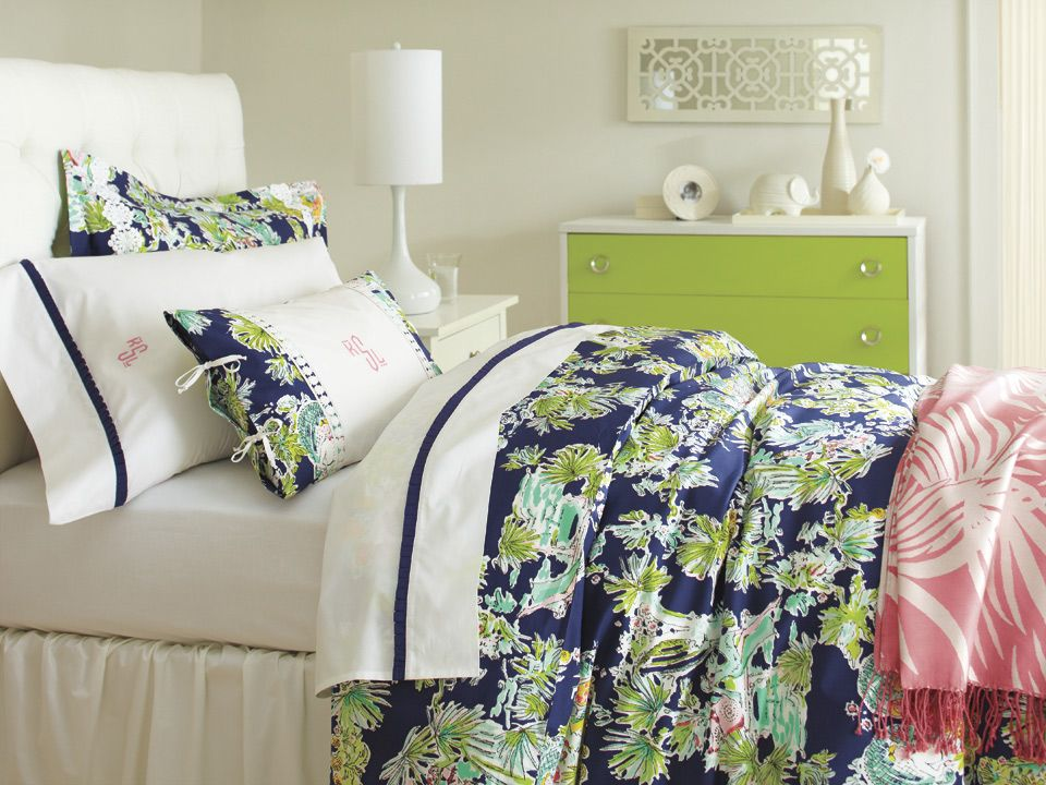 This Lilly Pulitzer Sister Floral S Bedding Collection