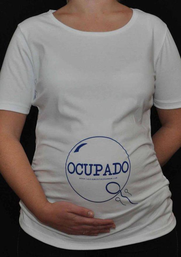 494e5972d Las camisetas de mami darán un toque divertido y de ternura a tu embarazo!  Son