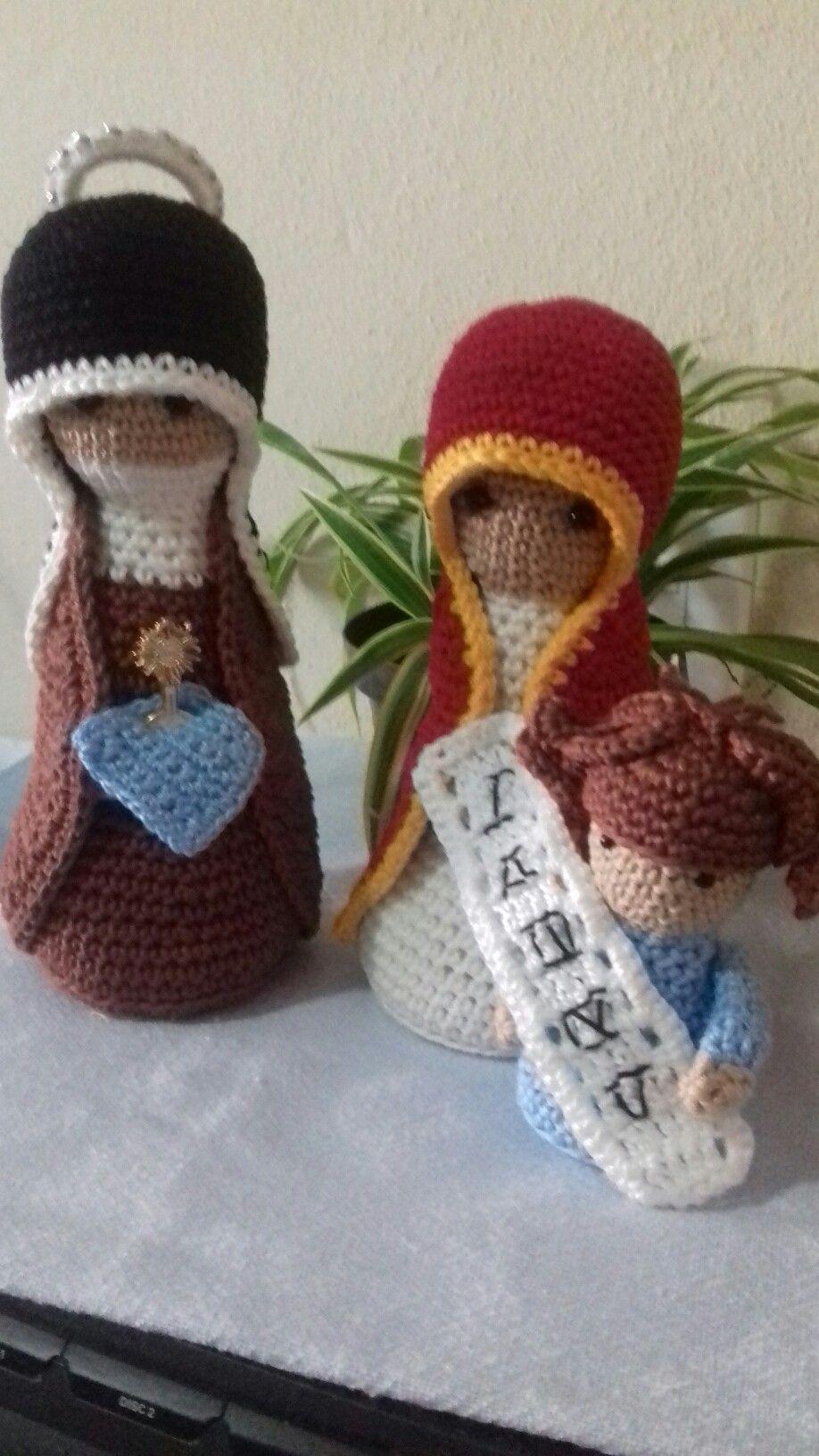 Natal: Confira a 6ª receita do presépio de crochê (com imagens ... | 1632x918