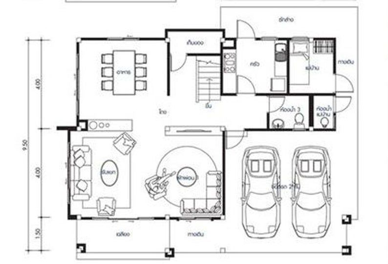 Custom House plans Home plans Building plans 4 Bedroom & 3 bath room Two Story House plans Grage plans with free AUTO CAD File