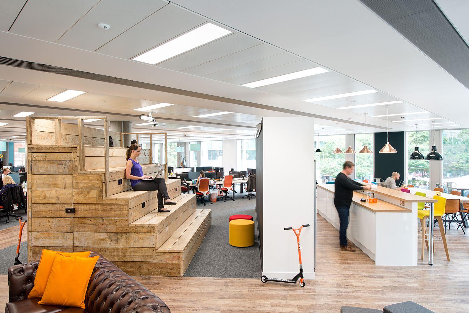 A Look Inside ING's Modern Amstelveen Office Corporate