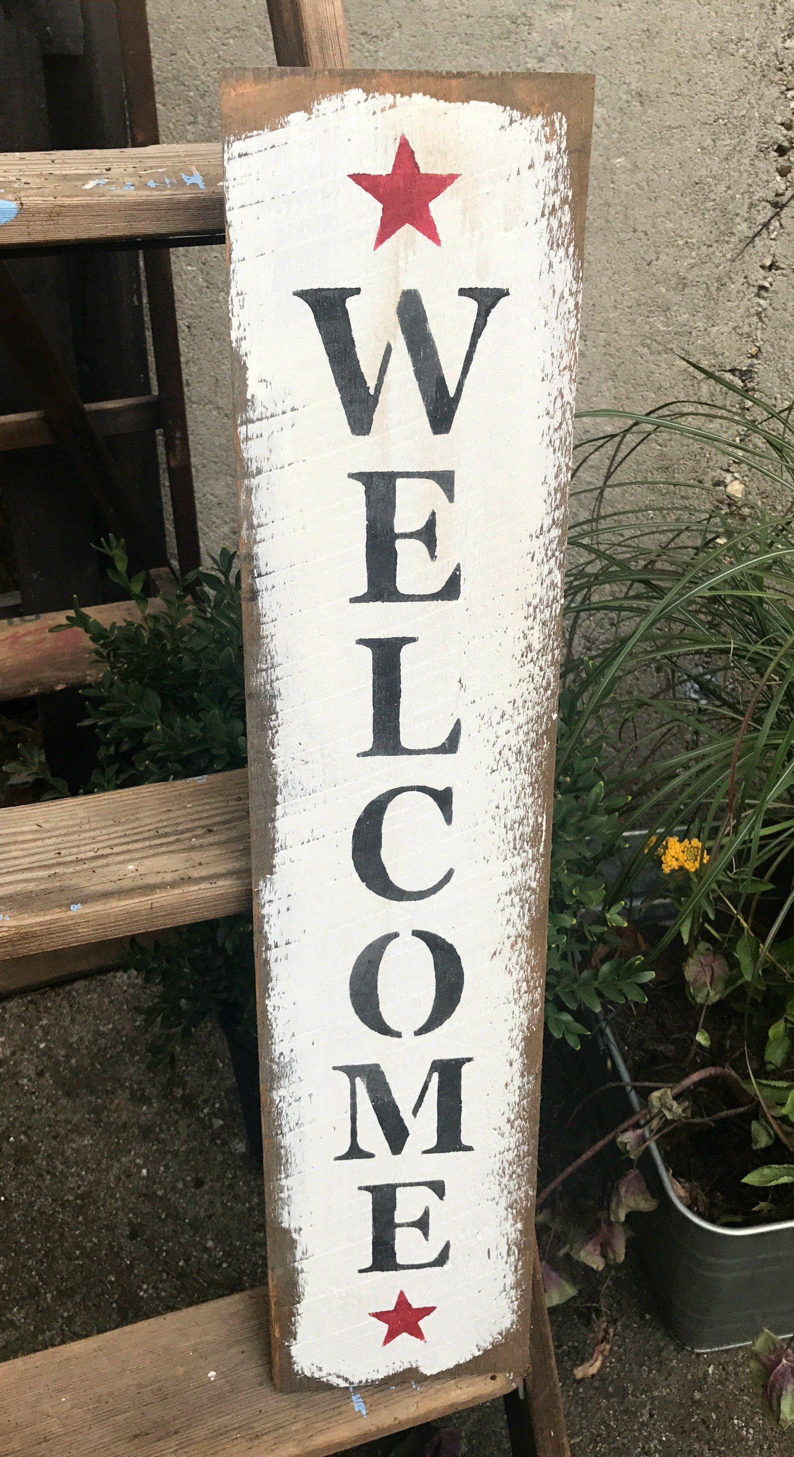 Barn Wood Welcome Sign Signs And Sayings Barn Wood