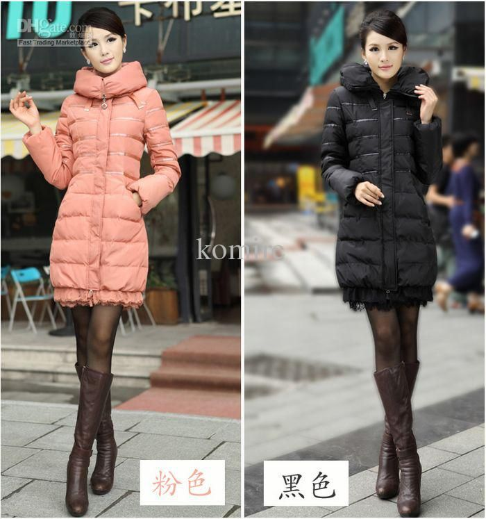 2012 Wome's Down Jacket Coat Winter Fashion Down Down & Parkas ...