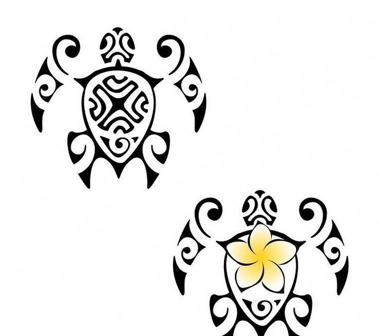 Tatouage Polynesien Homme Femme Tatouage Tortue Idees