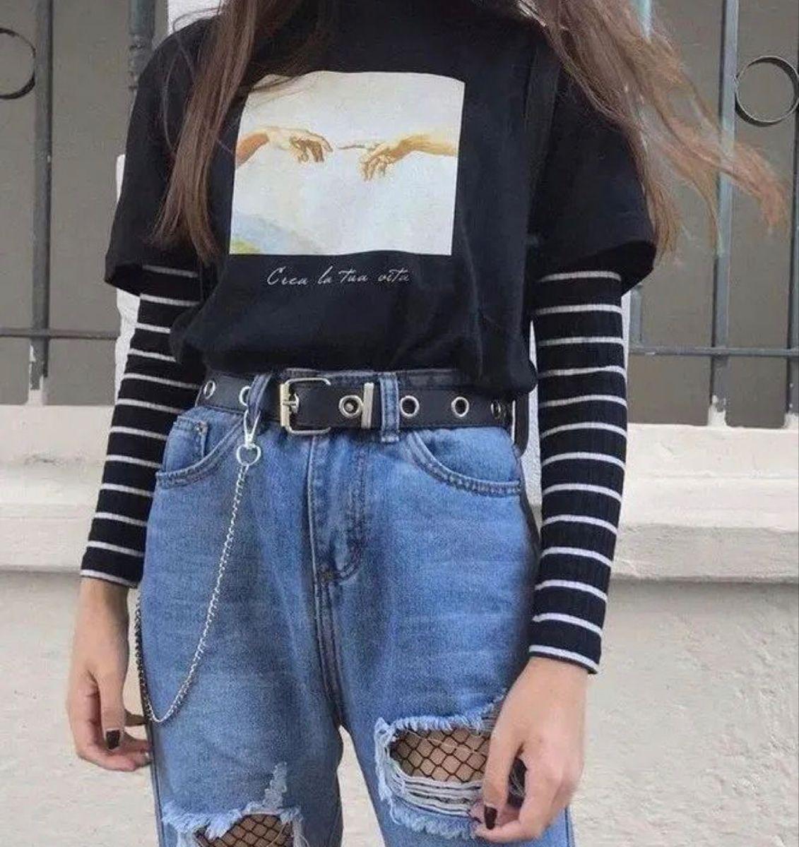 Grunge Fashion Grungeaesthetic Egirl In 2020 Egirl Fashion Cool Outfits Retro Outfits