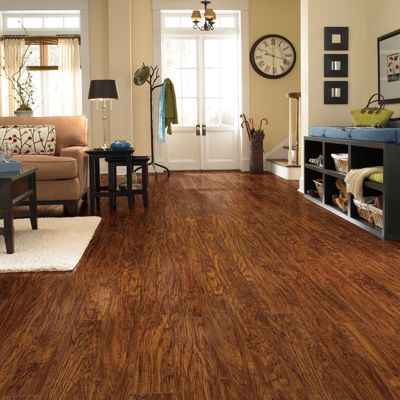 Traditional Living Handscraped Oak Premium Laminate Flooring