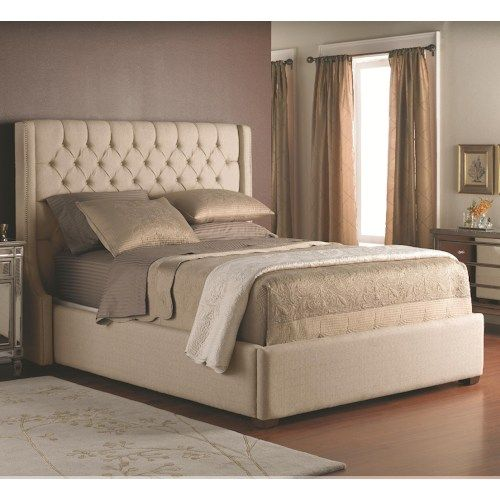 Decor Rest Beds King Size Upholstered Headboard With Button