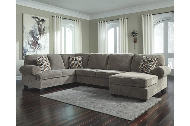 Best Jinllingsly 3 Piece Sectional With Chaise Comfortable 400 x 300