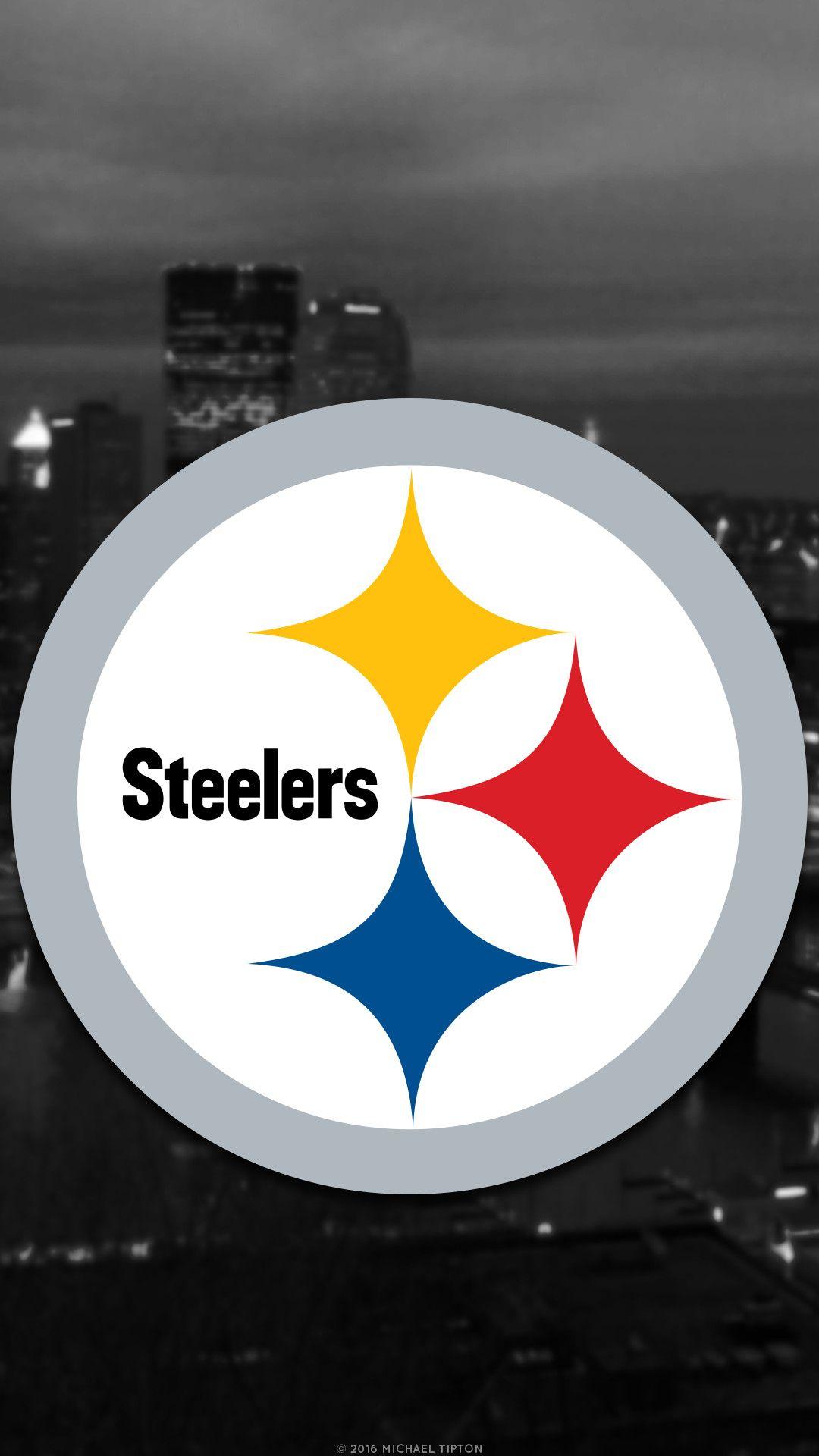 1080x1920 Galaxy Pittsburgh Steelers City 2017 Logo Wallpaper Free Iphone 5 6 7 Galaxy S6 Pittsburgh Steelers Wallpaper Steelers Pittsburgh Steelers