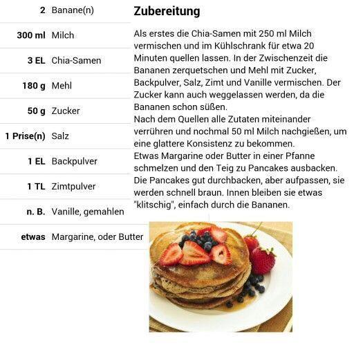Bananen-Chia-Pancakes