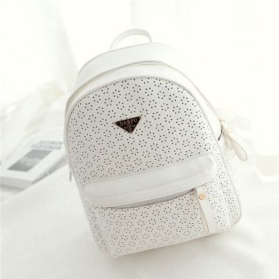 a61a48e72fb Hollow Flower School Bag Travel Backpack | Girls Backpack | School ...