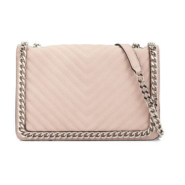 3b85b702ac3 Greenwald shoulder bag by ALDO. A quilted bag is totally linked-in courtesy  of chained frame and a crossbody strap. Big enough fo.