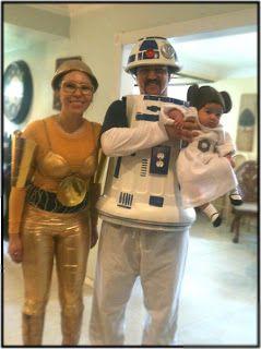 Miss Lovie: C3PO and R2D2 Costume Tutorial
