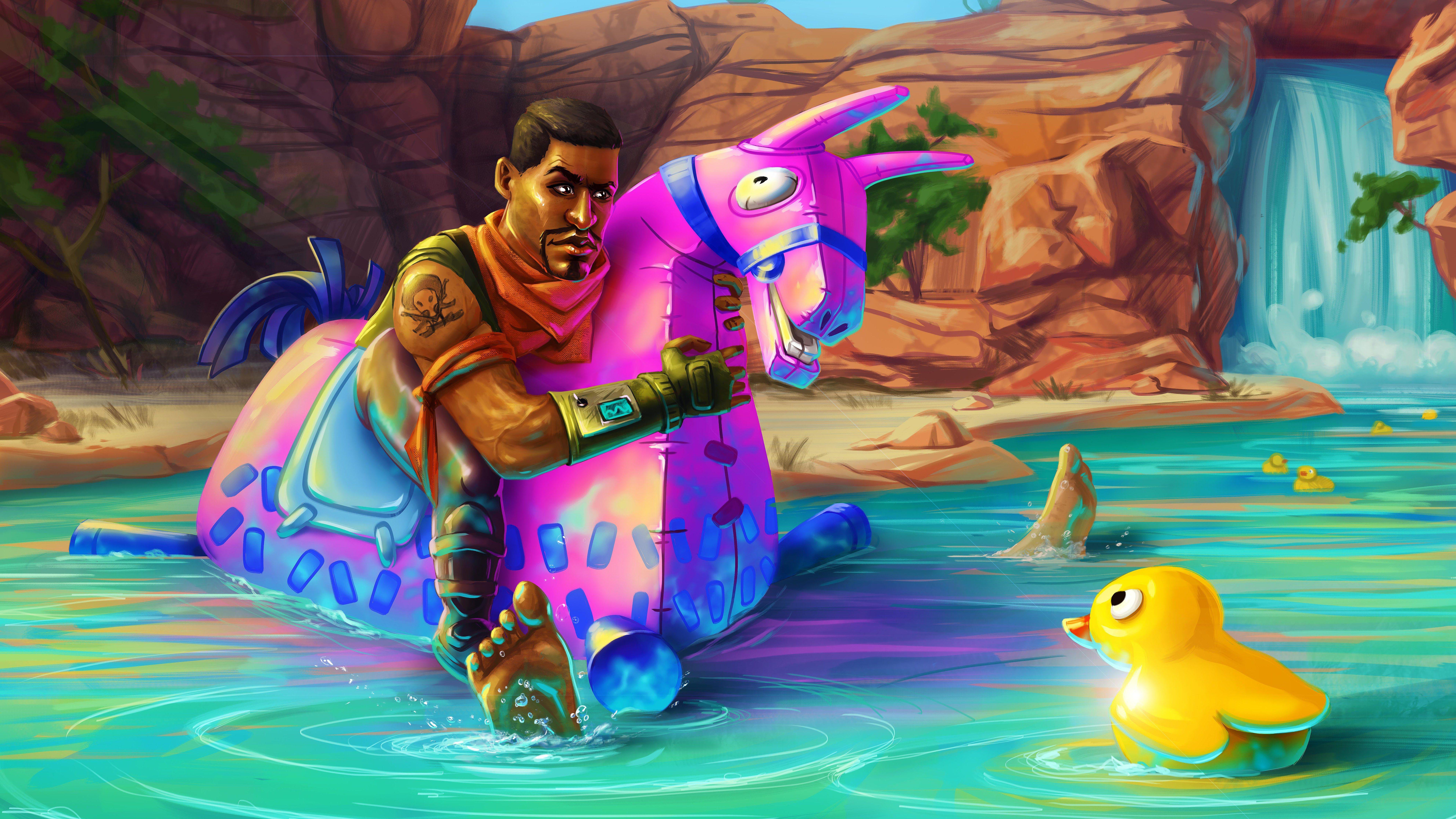 Giddy Up Fortnite Battle Royale Art 8k 25285 Art Black Art Pictures Fan Art