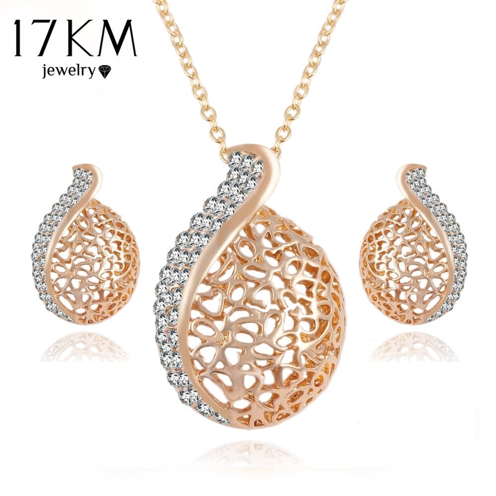 buy here km elegant pendientes austrian crystal chain