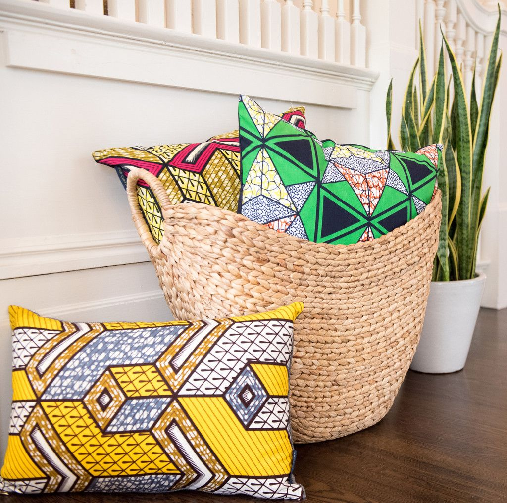 African Home Decor By 3rd Culture: African Wax Print