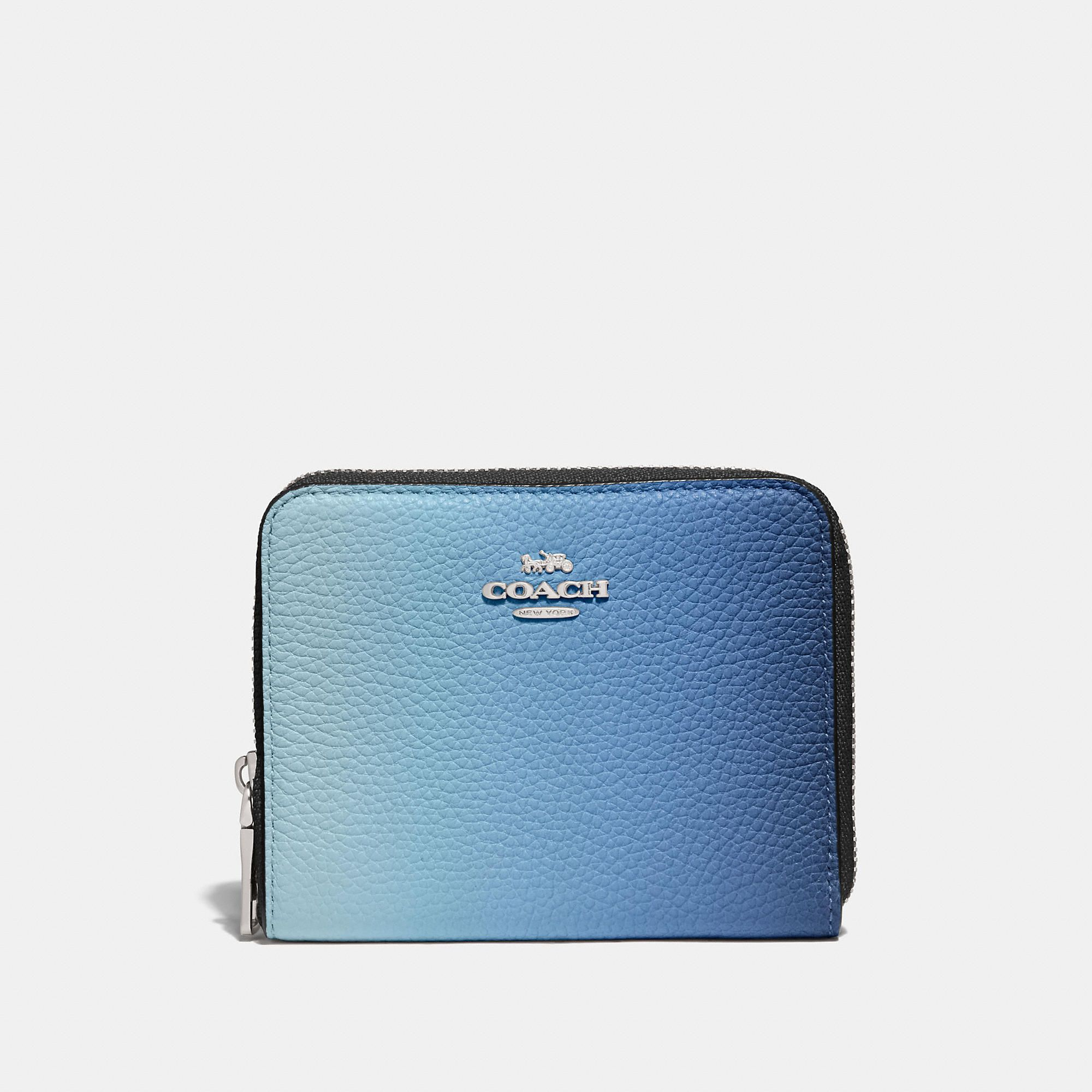 aa57ba09b7 Small zip around wallet with ombre in 2019 | Products | Wallet, Zip ...