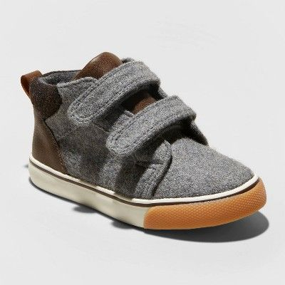Toddler Boys' Harrison Sneakers - Cat & Jack Gray 5, Boy's ...