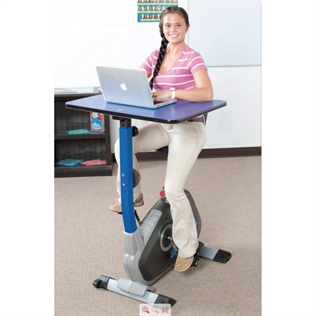 Kidsfita Pedal Desk Ages 11 17 Desk Age 11 Cardio Machines