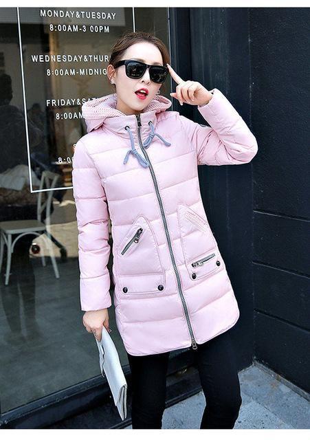 30b884d07e379 Winter Plus Size Coat Big Size Female Winter Jacket Slim Womens ...