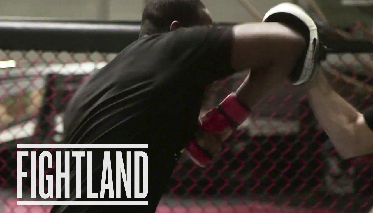 Elbows with jon jones fight school