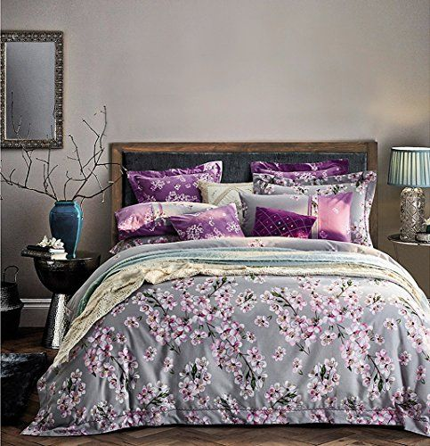 Blooming Cherry Blossoms Tree Branches Duvet Quilt Cover Https Www Amazon Com Dp B01na92u34 Ref Cm Sw R Pi Dp X Cozy Bedding Sets Quilted Duvet Cozy Bed