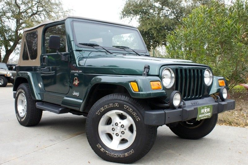 2001 Sahara with Soft Top Only 65k Miles! Automatic