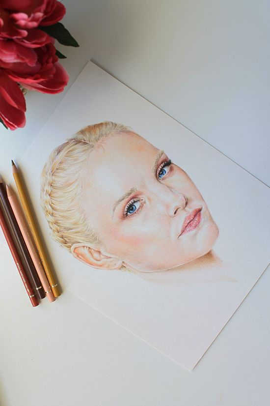 Painting With Colored Pencils: Creating a Realistic Look | Colored ...