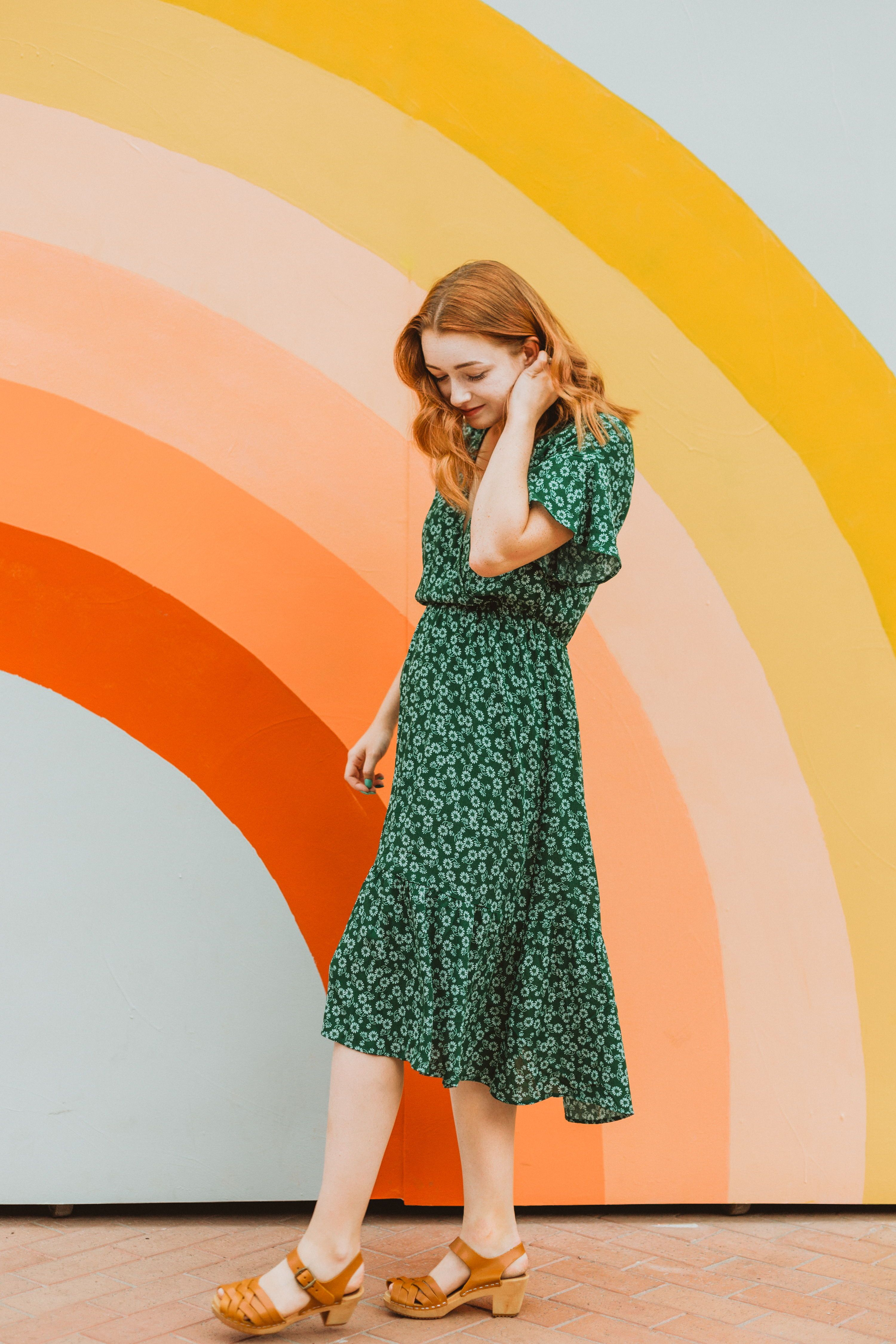 The Bright Side Floral Wrap Dress Is Our Beloved Sable Dress In A New Pattern This Dress Has Been So Popula Modest Summer Dresses Wrap Dress Floral Wrap Dress