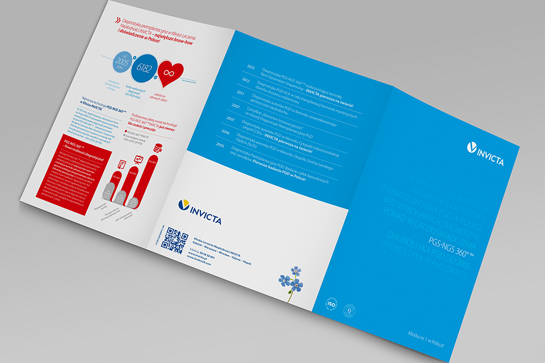 Invicta Trifold Brochure Design  Thinking Kong  Brochures