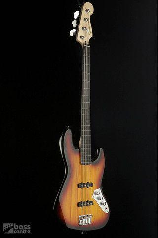 Squier Vintage Modified Jazz Bass Fretless Squier Bass Bass Guitar
