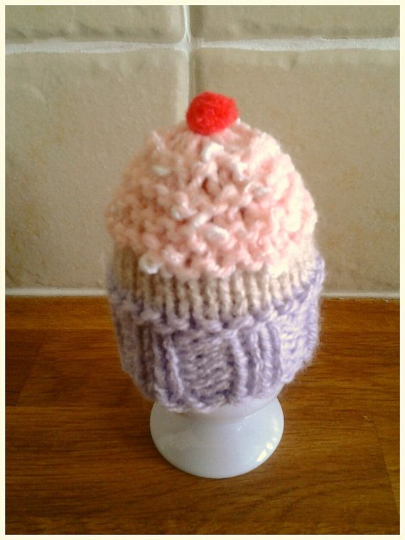Egg Cosy - Cupcake style ~ Knitting Pattern | Knitting ...