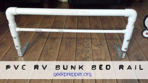 Diy Pvc Bunk Bed Rail A Safety Net For Those Kids Who Tumble Out Of