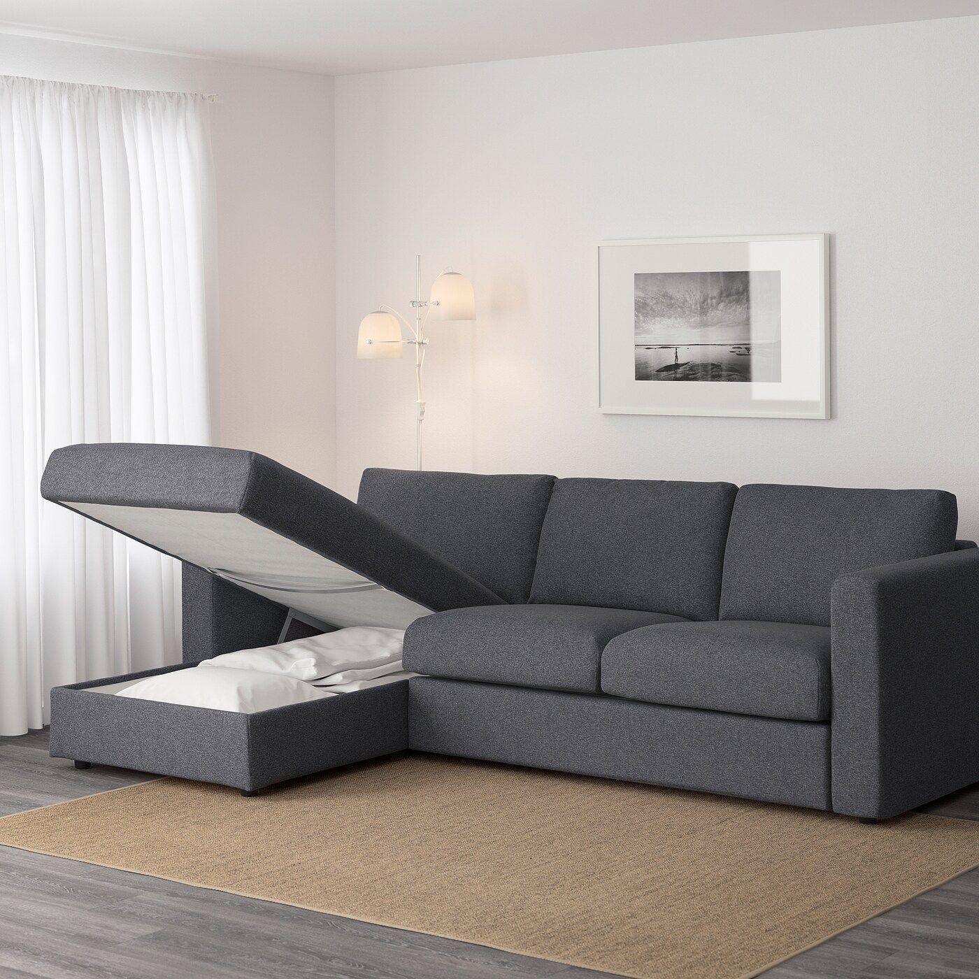 Ikea Vimle Sofa In 2020 Sofa Cozy Sofa Sofa Frame