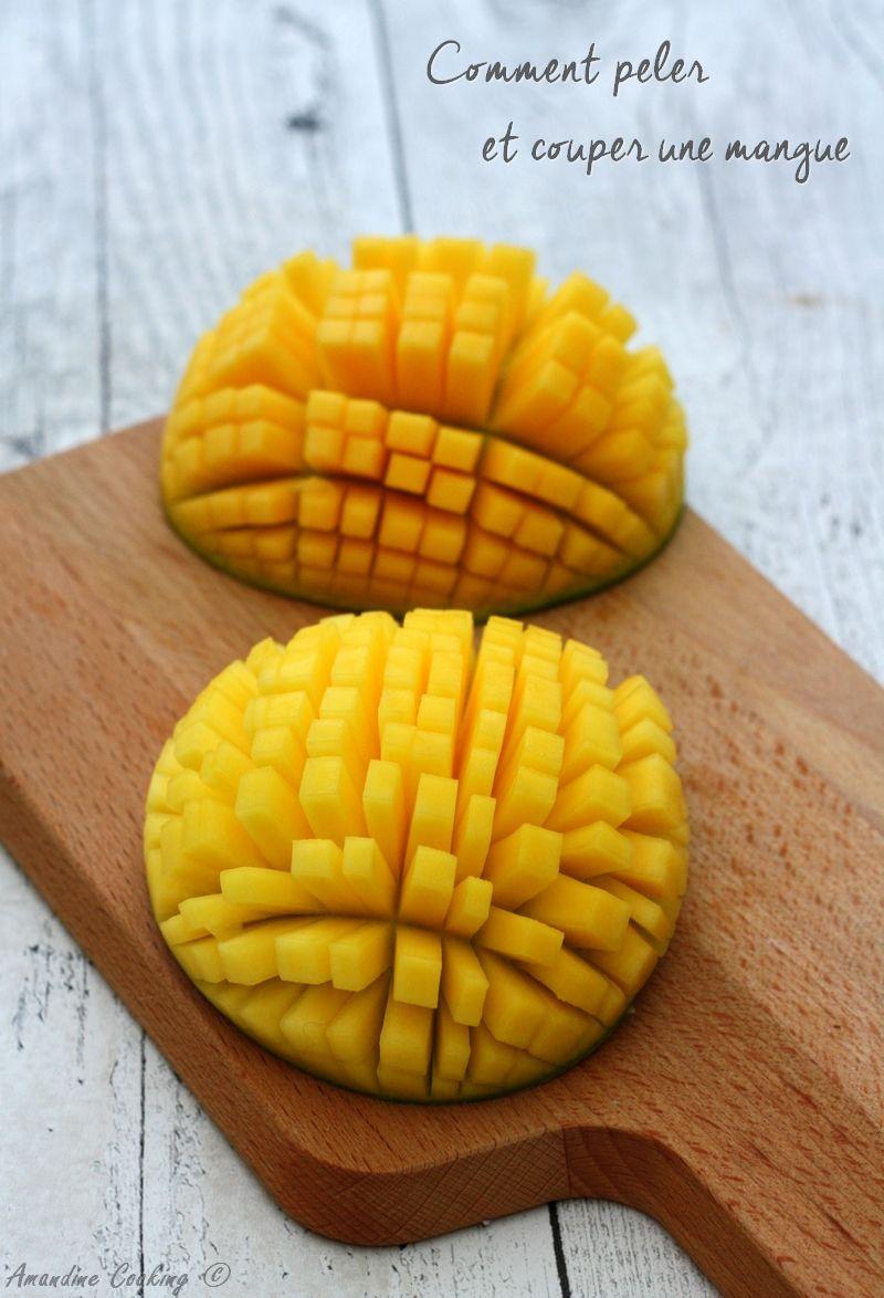 Comment peler et couper une mangue recettes de base pinterest - Comment cuisiner l artichaut ...