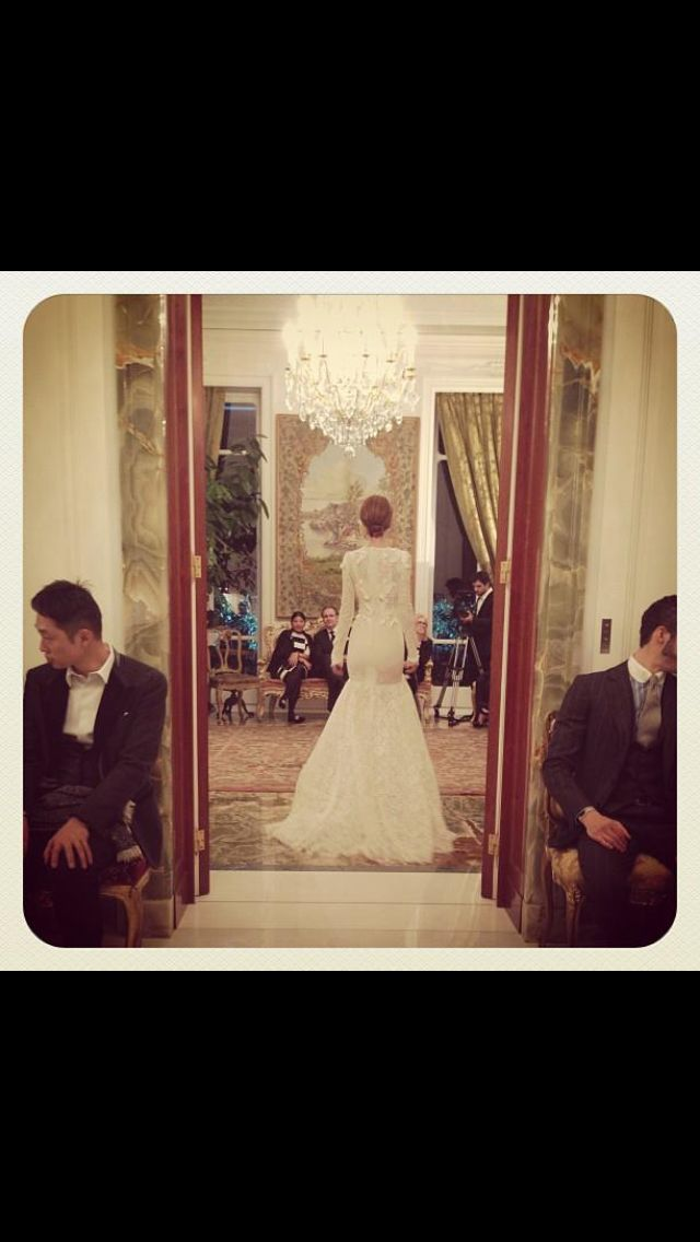 The perfect wedding dress! <3