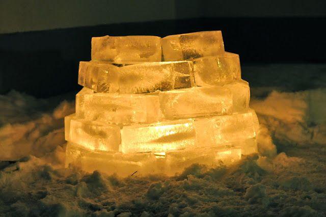 Lämmöllä tehtyä: Luukku 7: Iso jäälyhty