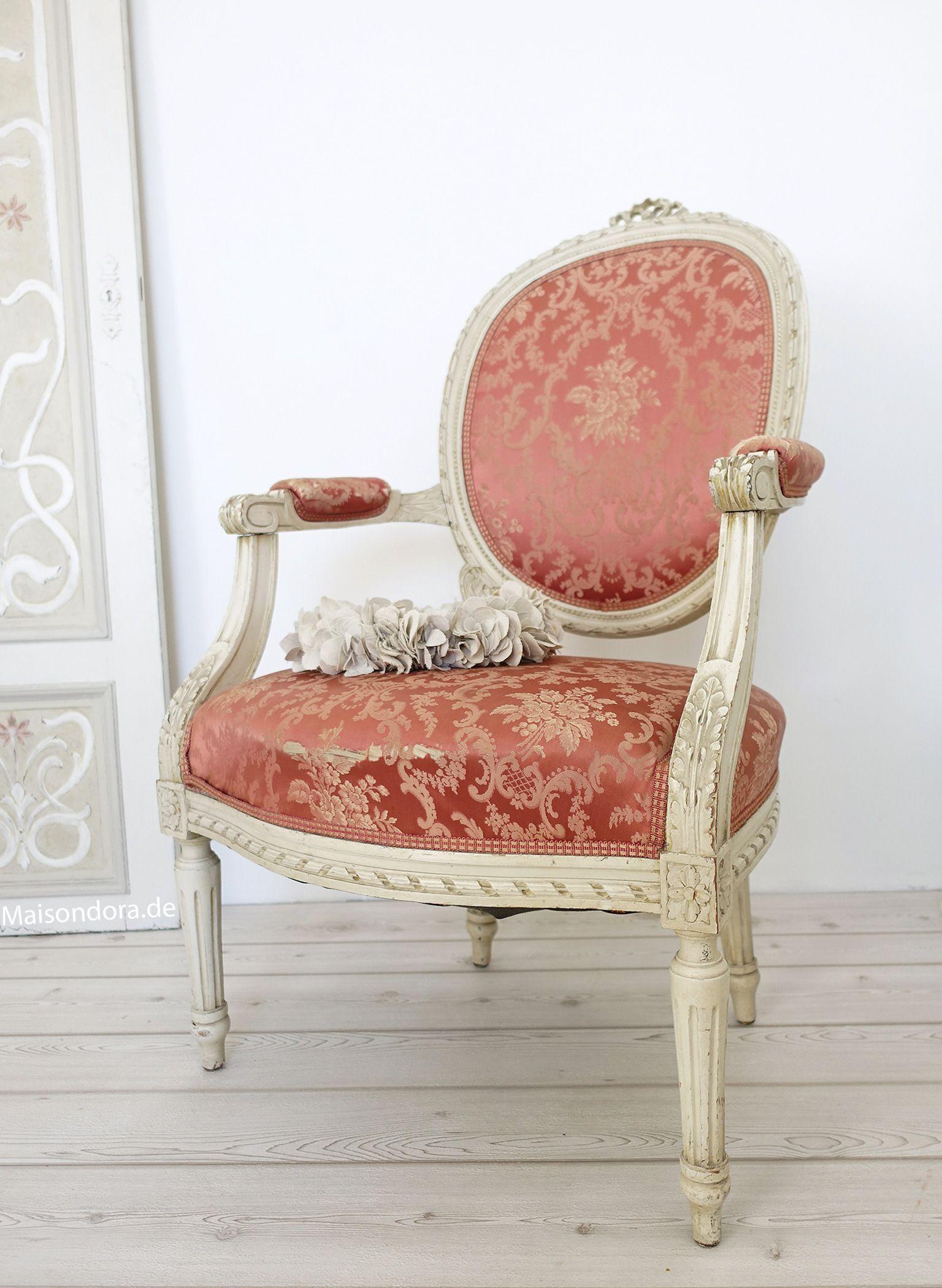 Antique medallion chair Louis Seize | Antique Furniture ...