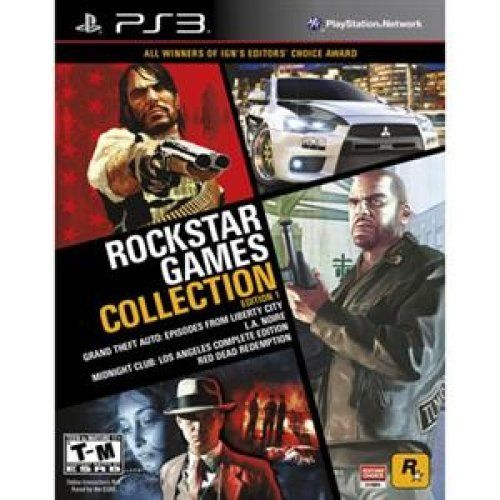 Taketwo Rockstar Games Collection Edition 1 Actionadventure Game Box Playstation 3 47229 Click Image For More Rockstar Games Latest Video Games Xbox 360