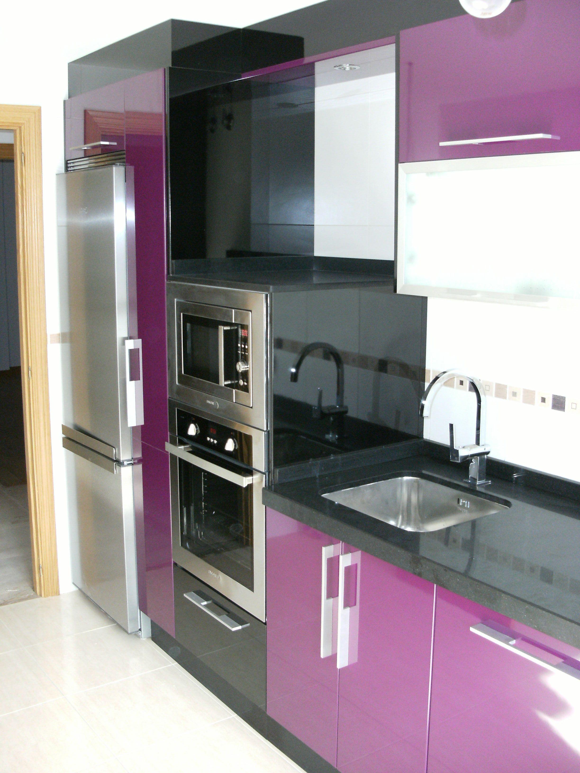 Cocina lila - Eurokit cocinas ...
