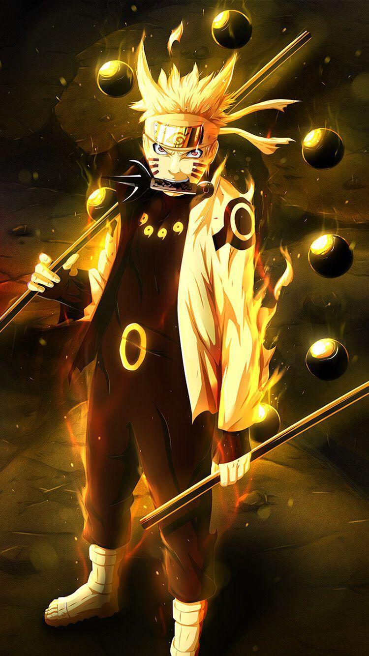 Nine Tails Chakra Mode With Images Naruto Shippuden Anime
