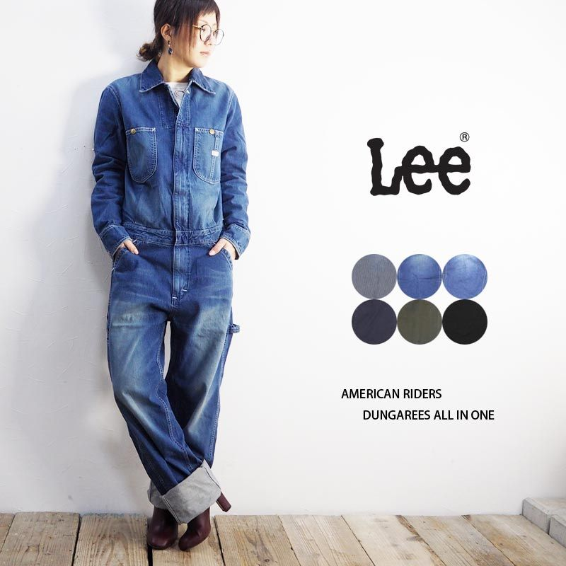 050cc4a8a99f Lee Lee AMERICAN RIDERS DUNGAREES ALL IN ONE 6colors (LM4213) SS17MB NO  IMAGE